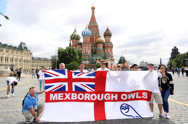 Some England supporters could pay over the odds for tickets but do not seem to care