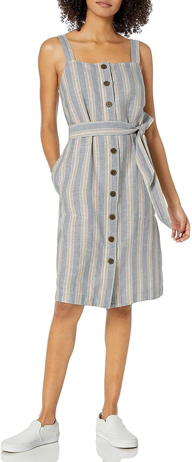 "<p>This <a href=""https://www.popsugar.com/buy/Goodthreads-Washed-Linen-Blend-Apron-Dress-575797?p_name=Goodthreads%20Washed%20Linen%20Blend%20Apron%20Dress&retailer=amazon.com&pid=575797&price=33&evar1=fab%3Aus&evar9=47491166&evar98=https%3A%2F%2Fwww.popsugar.com%2Ffashion%2Fphoto-gallery%2F47491166%2Fimage%2F47491423%2FGoodthreads-Washed-Linen-Blend-Apron-Dress&list1=amazon%2Cdresses%2Csummer%20fashion%2Cfashion%20shopping&prop13=mobile&pdata=1"" class=""link rapid-noclick-resp"" rel=""nofollow noopener"" target=""_blank"" data-ylk=""slk:Goodthreads Washed Linen Blend Apron Dress"">Goodthreads Washed Linen Blend Apron Dress</a> ($33) comes in a few colors.</p>"