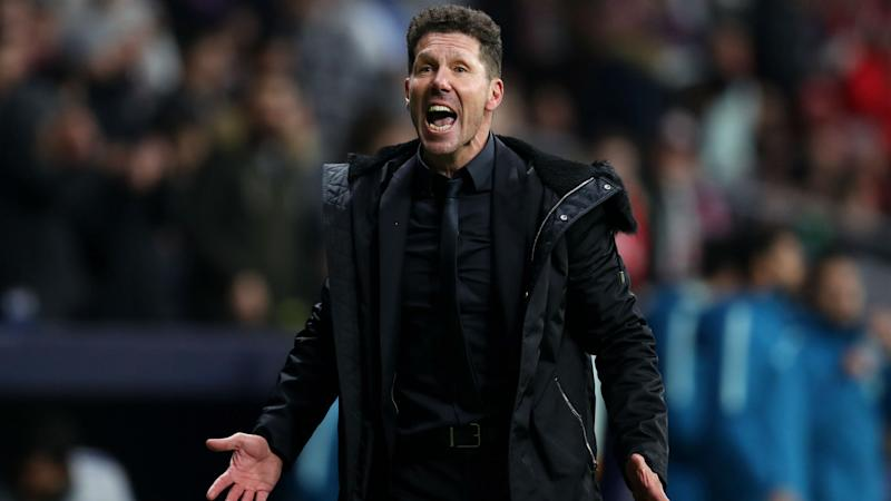 'Cojones' celebration lands Simeone improper conduct charge from UEFA