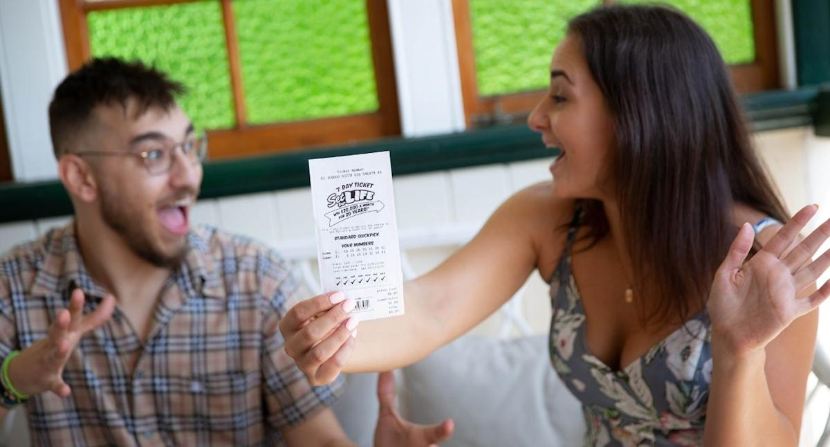 $4.8m Lotto win turns couple's bad luck around: 'This is everything'