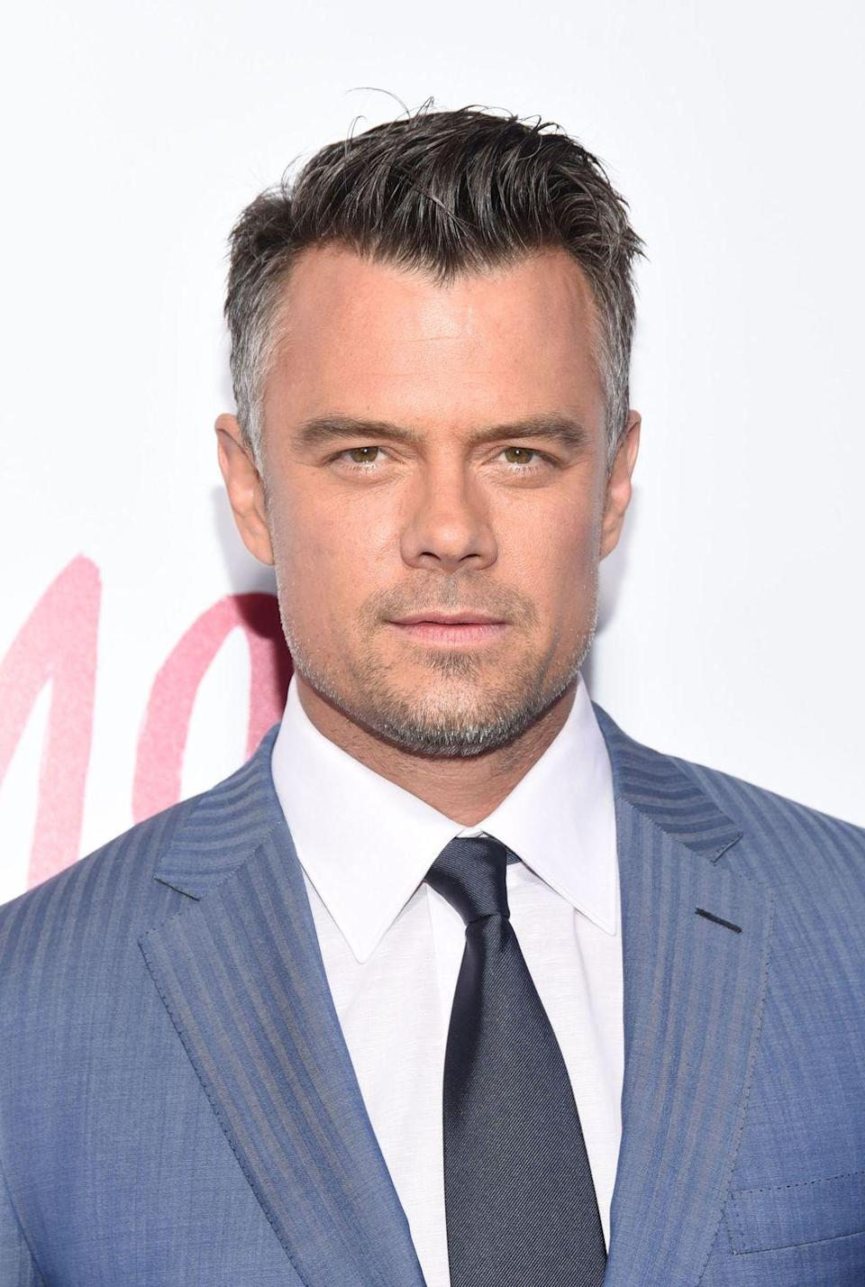 <p>At 46, Duhamel welcomed what comes with aging by letting his hair go gray at the temples and on the sides.</p>