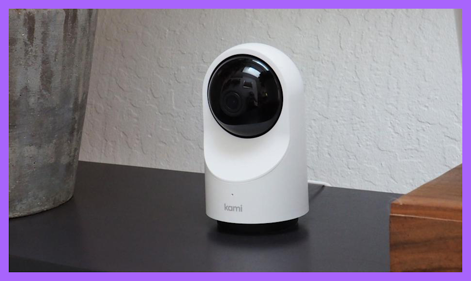 Save nearly 40 percent on this Kami 360-degree Indoor Camera (Photo: HSN)