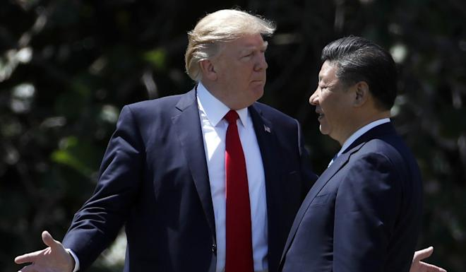 """Presidents Donald Trump and Xi Jinping are set to sign a """"phase one"""" deal when they meet at the Apec summit in Chile next month. Photo: AP"""