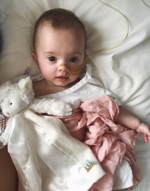 Born in March, Rumi is battling an extremely rare chromosome disorder. Photo: GoFundMe