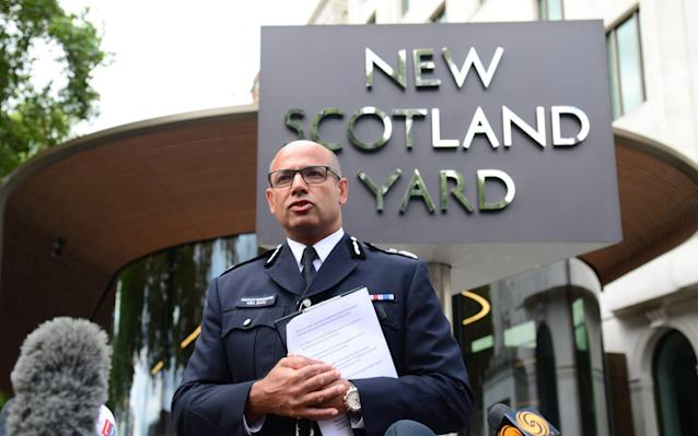 Assistant Commissioner Neil Basu is the head of counter terror policing in the Met Police - paul grover