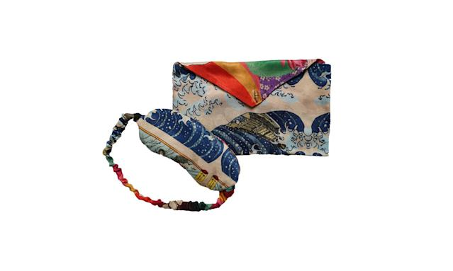 "<p>Your mom will be the most stylish one napping on the plane when she wears this Japanese-inspired eye mask.<br><br>Trippin Eye Mask, $30,<a href=""https://chufy.com/collections/all/products/trippin-eye-mask"" rel=""nofollow noopener"" target=""_blank"" data-ylk=""slk:chufy.com"" class=""link rapid-noclick-resp""> chufy.com</a> </p>"