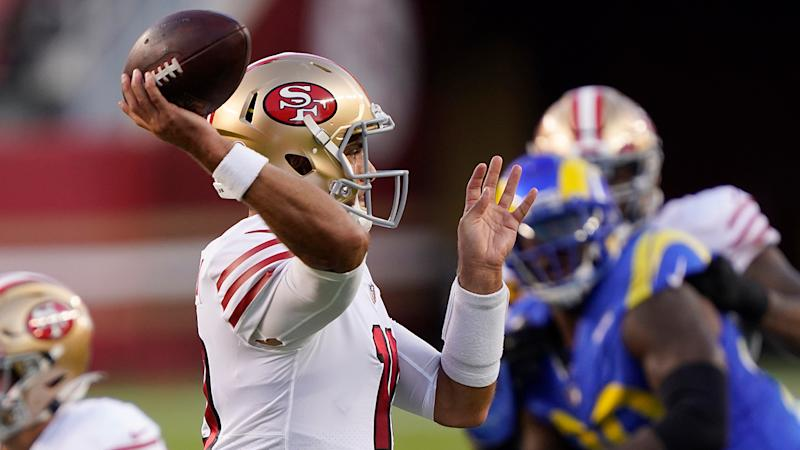Jimmy Garoppolo's performance on touchdown drive produces amazing stat