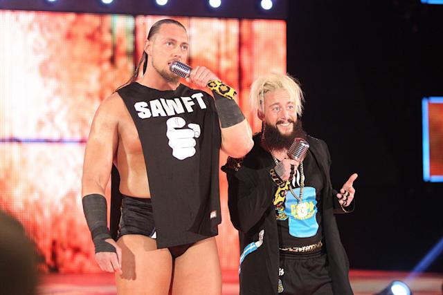 Enzo Amore and Big Cass wwe,