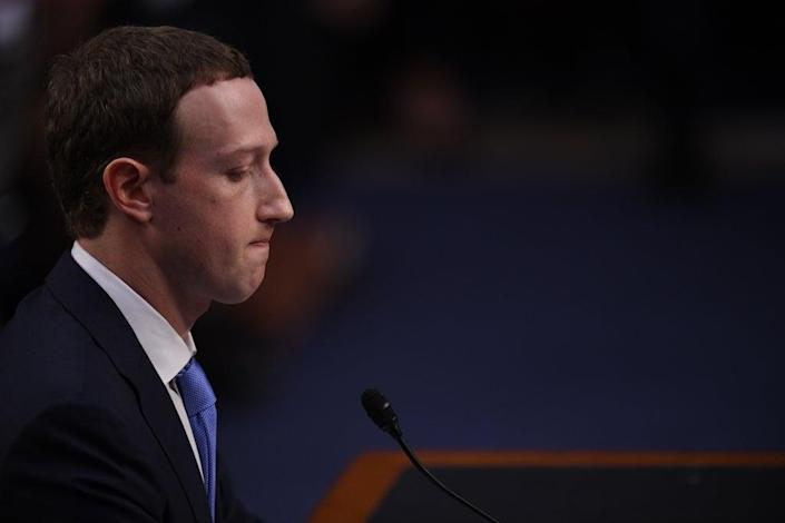 The damage done: Will the social media platform have to change its ways to survive?  (AFP via Getty Images)