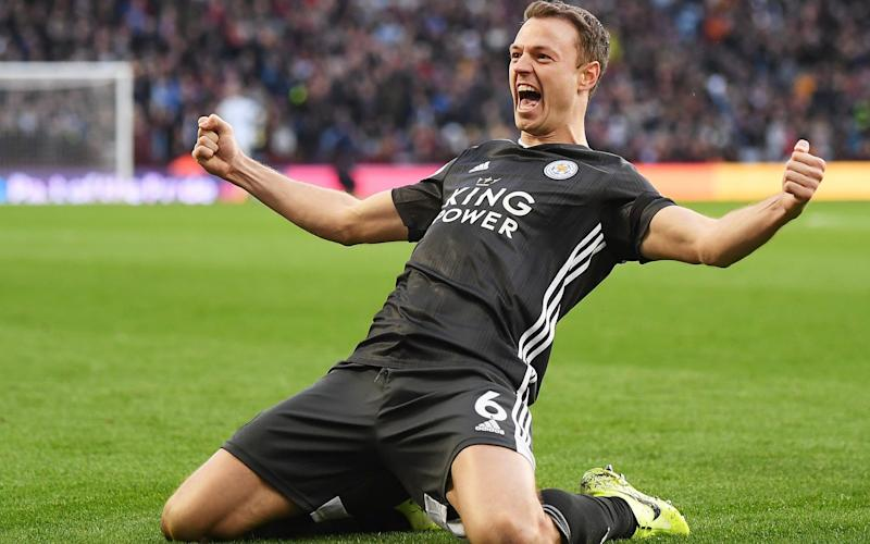 Jonny Evans is having a brilliant season - Getty Images Europe