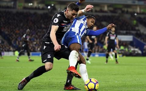 <span>Brighton vs Palace will witness the first VAR used in an FA Cup match</span> <span>Credit: Getty Images </span>