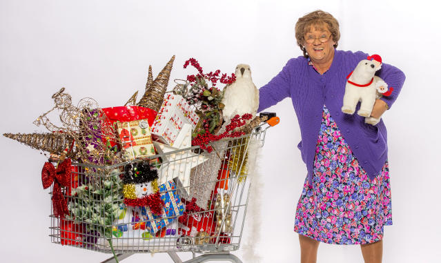 'Mrs Brown's Boys' has topped the Christmas ratings for the past few years. (Alan Peebles/BBC)