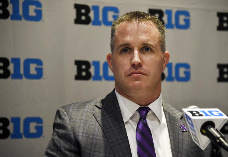 Northwestern's Pat Fitzgerald: Run-pass options are the 'purest form of communism'