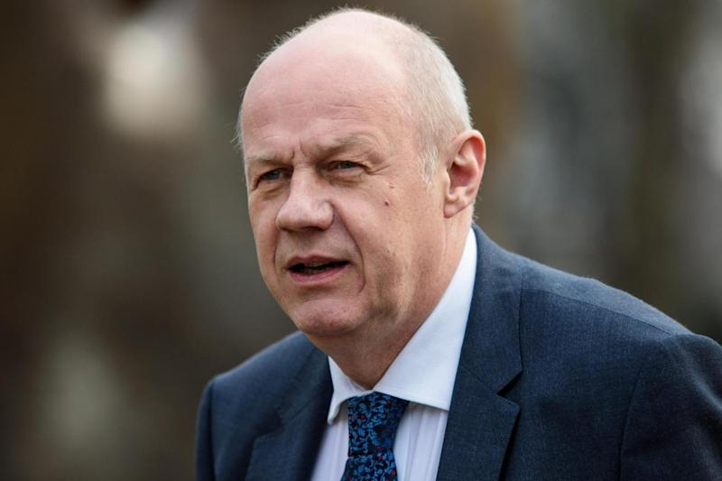 Livid: Damian Green: (Photo by Jack Taylor/Getty Images) (Getty Images)