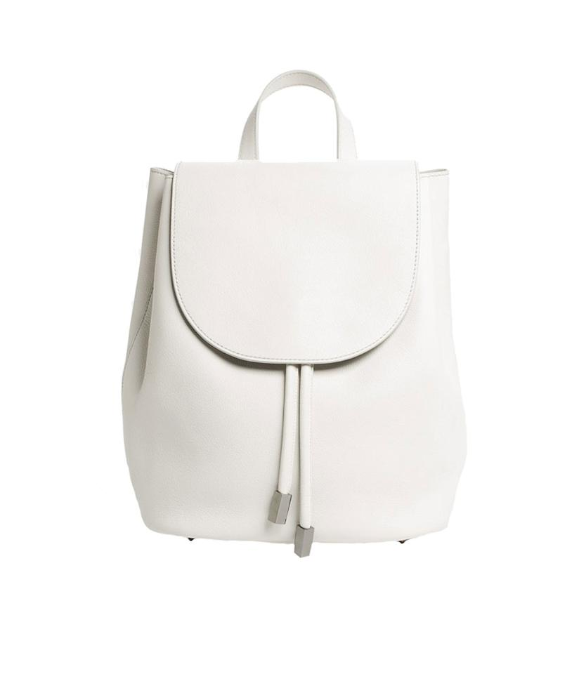 """<p>The Petra Backpack, $330, <a rel=""""nofollow"""" href=""""https://www.everlane.com/products/petra-backpack-white?collection=petra"""">everlane.com</a> </p>"""