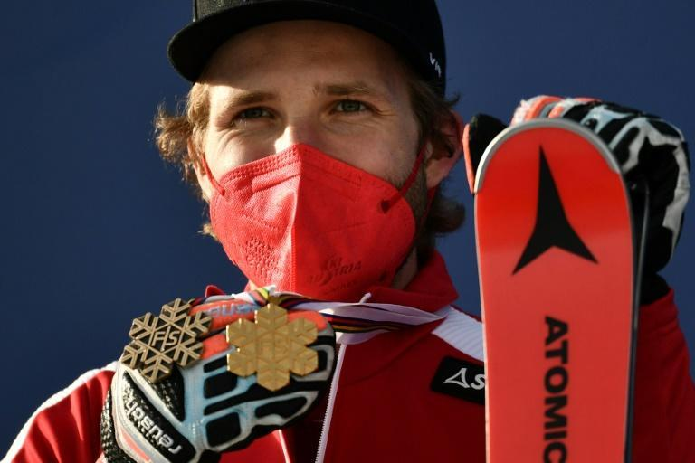 Austrian Marco Schwarz has already collected a pair of medals