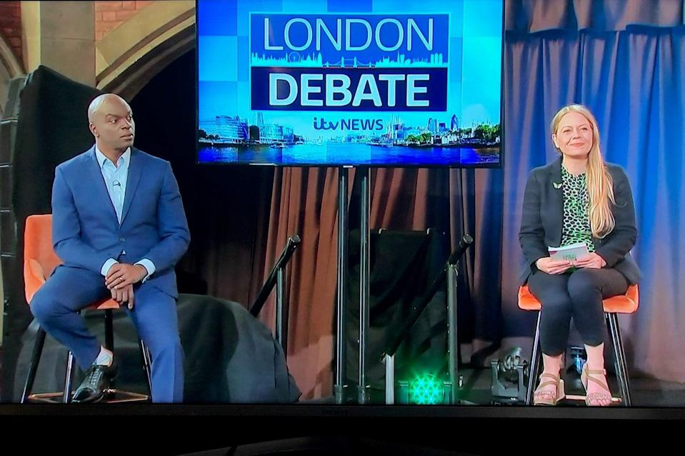 ITV hustings: Shaun Bailey and Sian BerryITV London
