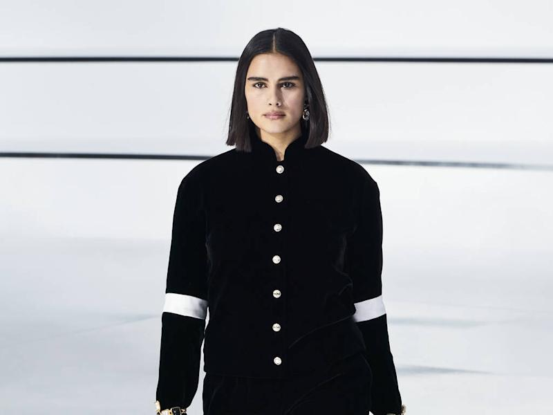 Jill Kortleve becomes first plus-size model to walk in Chanel show in a decade