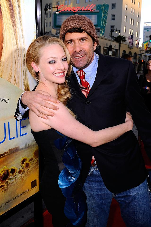 """<a href=""""http://movies.yahoo.com/movie/contributor/1808545150"""">Amanda Seyfried</a> and <a href=""""http://movies.yahoo.com/movie/contributor/1800052469"""">Gary Winick</a> at the Los Angeles premiere of <a href=""""http://movies.yahoo.com/movie/1810089734/info"""">Letters to Juliet</a> - 05/11/2010"""