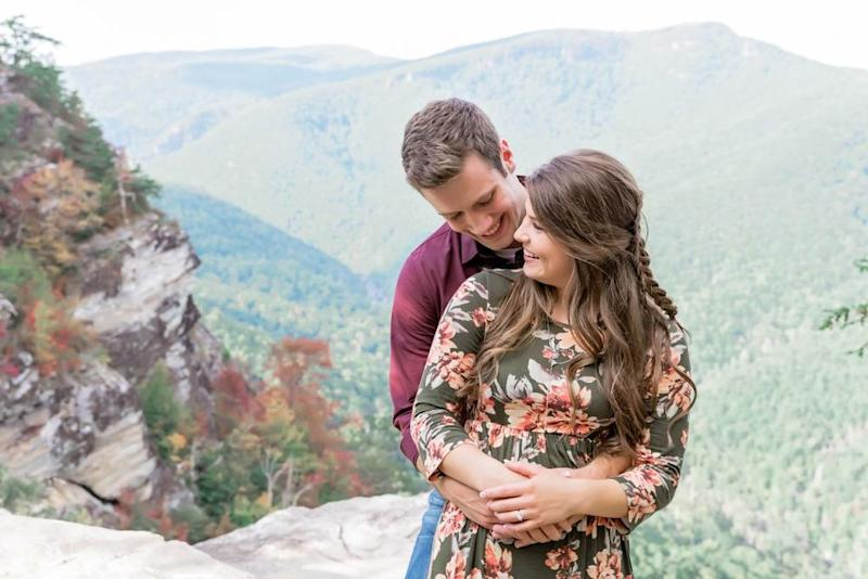 Tori Bates and Bobby Smith's engagement