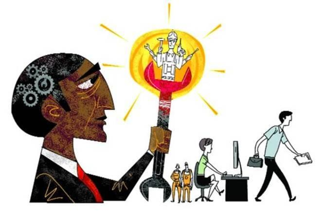 On one hand, a majority of Indian engineers are unemployable. (Illustration: Rohnit Phore)