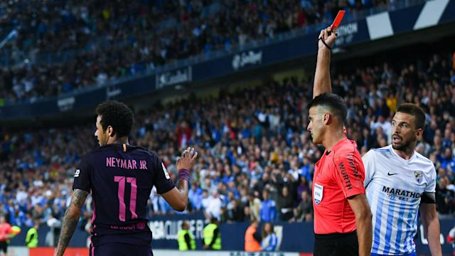 Barcelona will have to take on Real Madrid in the Clasico on April 23 without Neymar as the Brazilian forward has been banned.