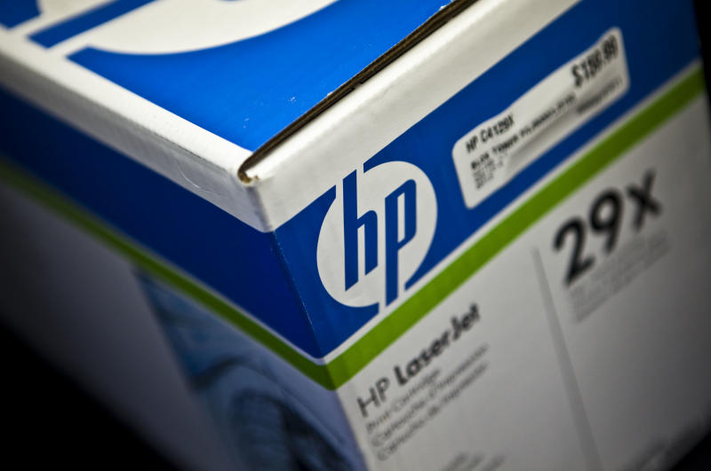 USA - Business - Hewlett-Packard Shares Drop
