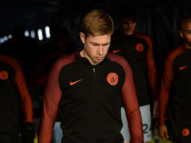 De Bruyne was not considered 100 per cent fit by Belgium: Getty