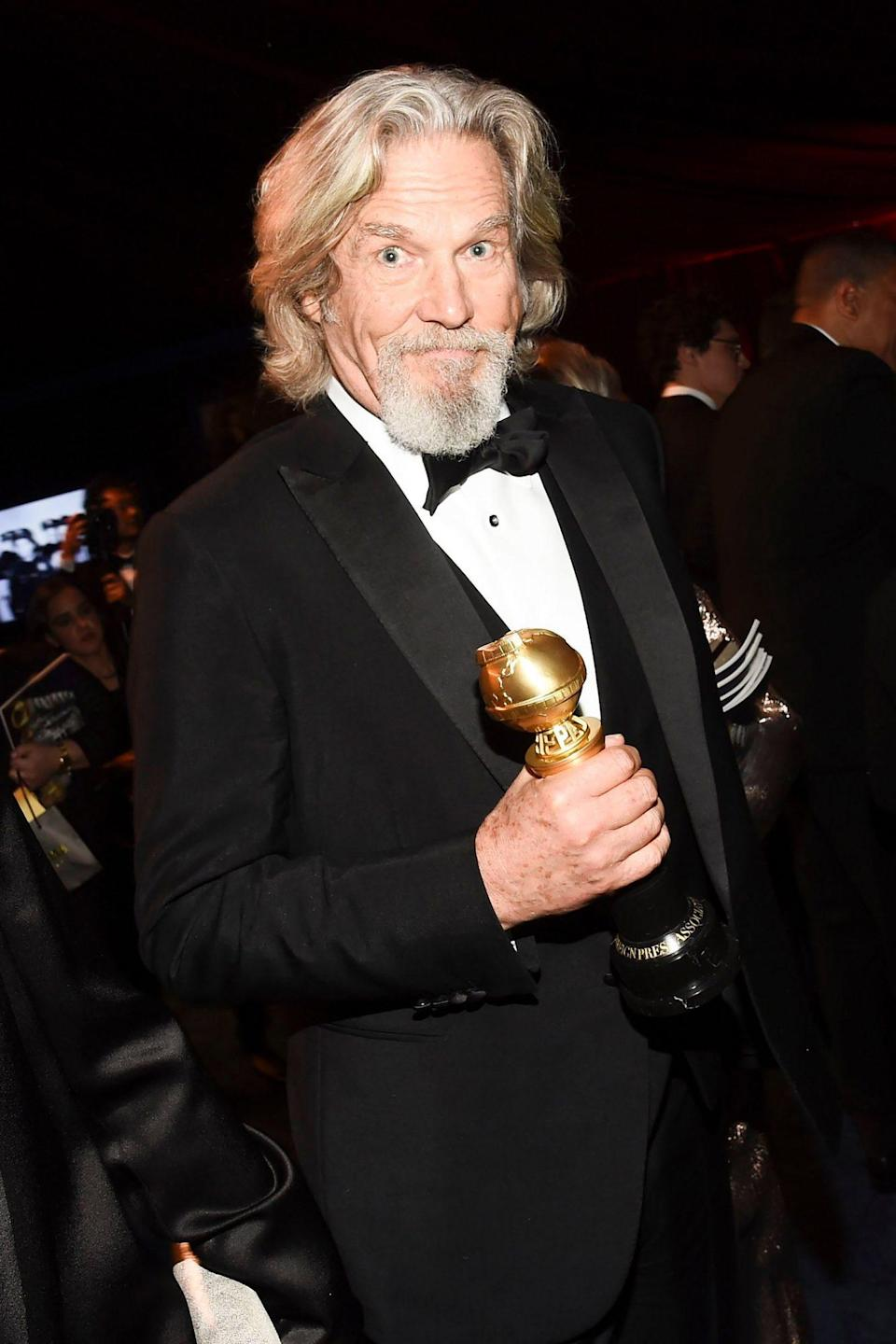 <p>When Jeff Bridges won the Cecil B DeMille Award in 2019, his wife, brother and sister were in the audience to cheer him on as he thanked past costars, his team and even his stand-in.</p>