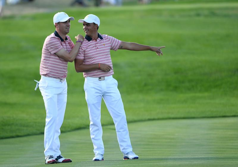 Thomas and Fowler went 2-0-1 as a pairing at the 2017 Presidents Cup.