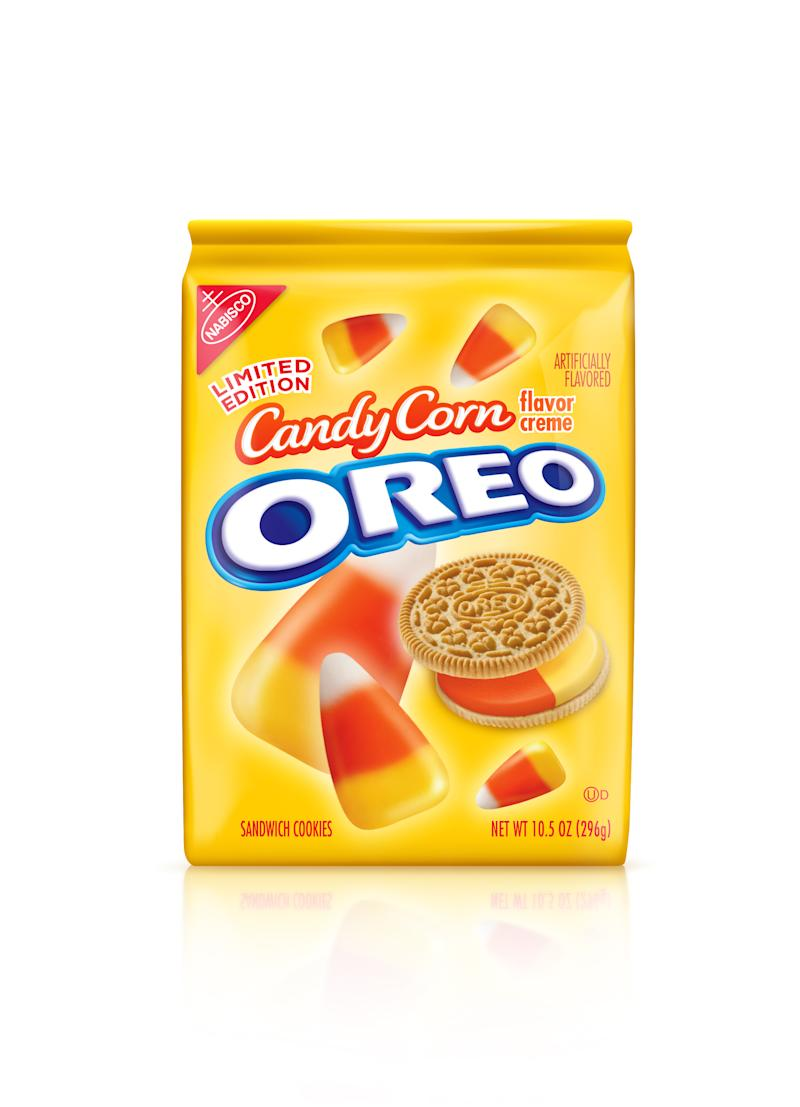 Kraft scares up 'Candy Corn Oreos' for Halloween