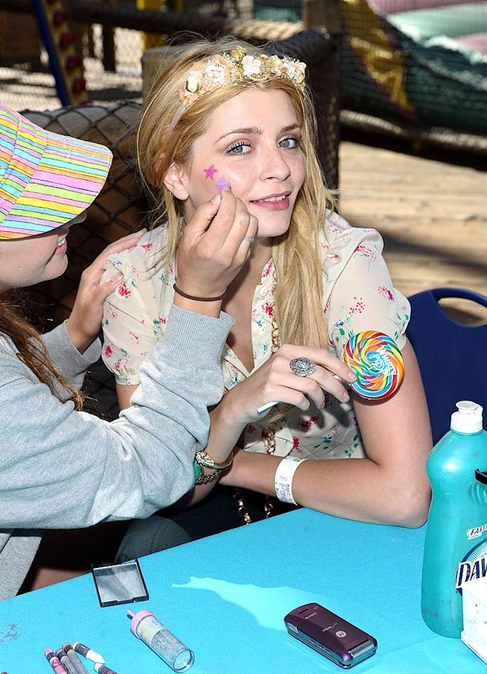 """Mischa Barton and more joined the Make-A-Wish Foundation for a Day of Fun on the Santa Monica Pier. Besides meeting children from 500 families involved in the charity, celebrity guests enjoyed rides, food, and face painting for their kids and, in the case of """"The O.C."""" star, themselves. Stefanie Keenan/<a href=""""http://www.gettyimages.com/"""" target=""""new"""">GettyImages.com</a> - March 14, 2010"""