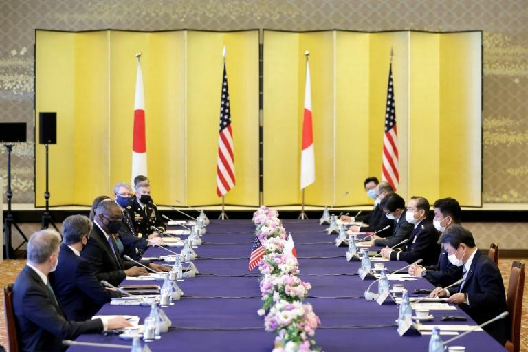 Blinken and Austin are in Asia after a key summit between leaders of the Quad alliance, which groups the US, Australia, Japan and India