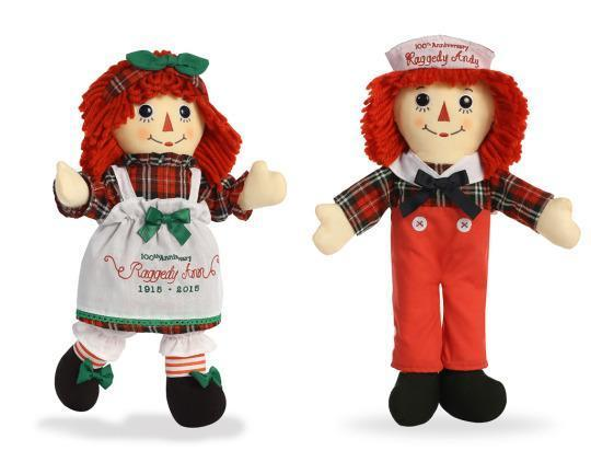 and new fans can collect their own special edition versions rolling out throughout this milestone year for raggedy ann and andy - Raggedy Ann And Andy