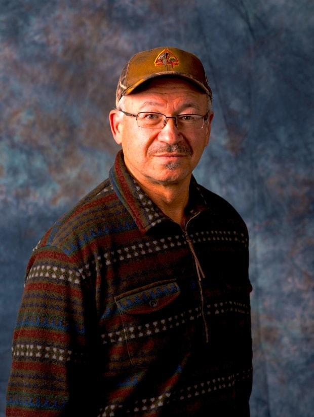 Peskotomuhkati/Passamaquoddy Elder Donald Soctomah in a photo released for the launch of Dawnland Voices: An Anthology of Indigenous Writing from New England in 2014. (Submitted by Donald Soctomah - image credit)
