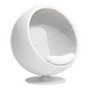 """<p><strong>Eero Aarnio </strong></p><p>aarniooriginals.com</p><p><a href=""""https://www.aarniooriginals.com/products/ball-chair"""" rel=""""nofollow noopener"""" target=""""_blank"""" data-ylk=""""slk:Shop Now"""" class=""""link rapid-noclick-resp"""">Shop Now</a></p><p>When it debuted at the Cologne Furniture Fair in 1966, the Ball Chair skyrocketed Finnish designer Eero Aarnio to fame. The futuristic shape was a hit in the mod 1960s and the seat quickly became a centerpiece of stylish modernist homes. </p>"""