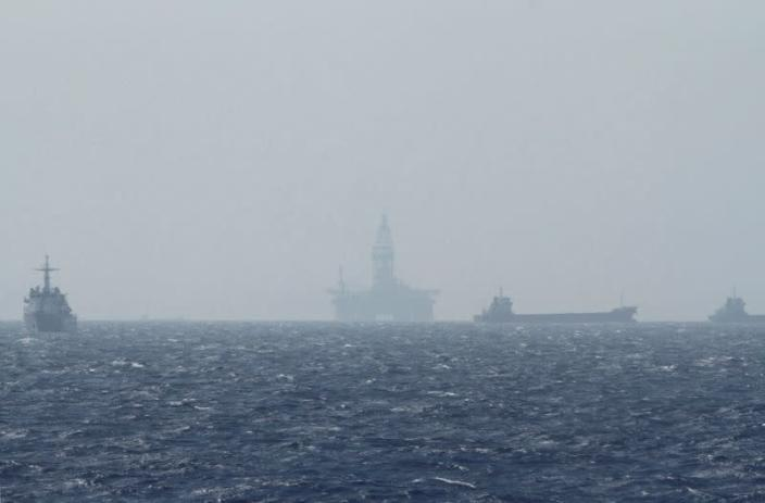 File photo of an oil rig which China calls Haiyang Shiyou 981 and Vietnam refers to as Hai Duong 981 in the South China Sea, off the shore of Vietnam