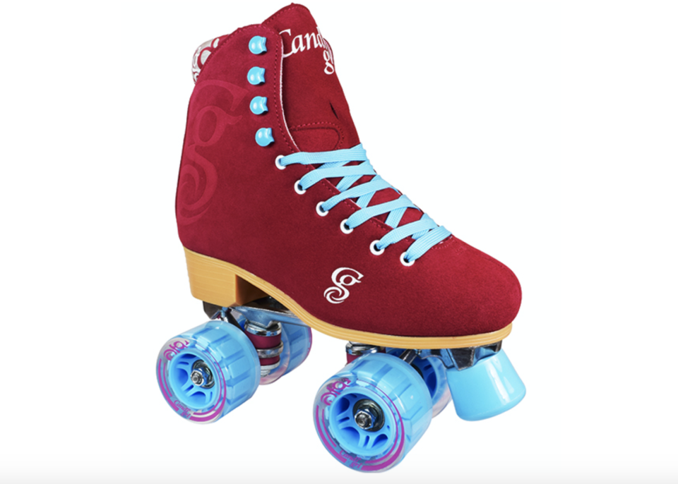 """<p><strong>Roller Derby</strong></p><p>rollerskatenation.com</p><p><strong>$99.99</strong></p><p><a href=""""https://go.redirectingat.com?id=74968X1596630&url=https%3A%2F%2Frollerskatenation.com%2Fcandi-girl-carlin-indoor-outdoor-skates%2F&sref=https%3A%2F%2Fwww.womenshealthmag.com%2Ffitness%2Fg33905014%2Fbest-roller-skates%2F"""" rel=""""nofollow noopener"""" target=""""_blank"""" data-ylk=""""slk:Shop Now"""" class=""""link rapid-noclick-resp"""">Shop Now</a></p><p>""""For outdoor roller skates under $100, I believe the Candi Girl roller skates would be someone's best bet. They come with a diagram of skate parts and a skate warranty! Heads up though, they don't come with a skate tool like most skates would."""" — <em><a href=""""https://www.instagram.com/b000msk8s/"""" rel=""""nofollow noopener"""" target=""""_blank"""" data-ylk=""""slk:Justine Sanborn"""" class=""""link rapid-noclick-resp"""">Justine Sanborn</a>, a.k.a. B000M, certified skate instructor</em></p>"""