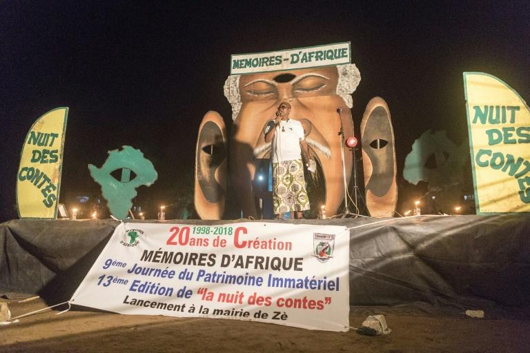 For two nights in mid-August more than 30 communities from across Benin held the event organised by a Franco-Beninese association, Memories of Africa, that is now two decades old