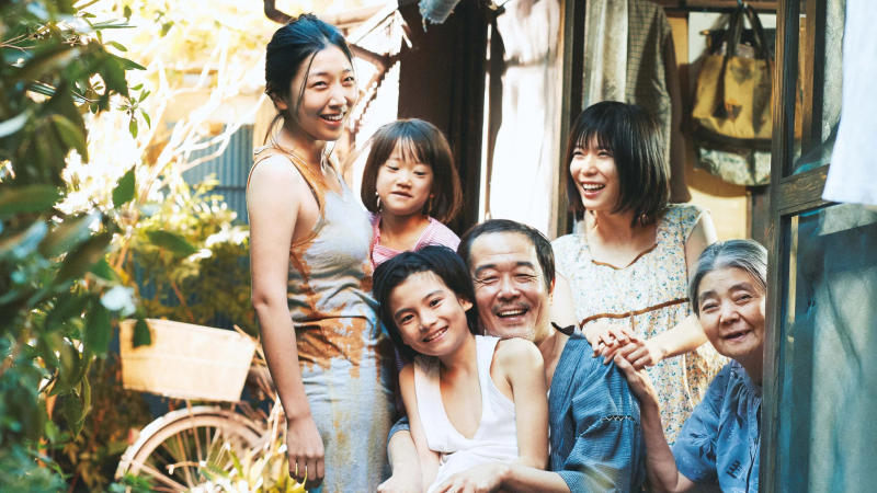 Hirokazu Kore-eda's 'Shoplifters' focuses on an unconventional family. (Credit: Thunderbird Releasing)