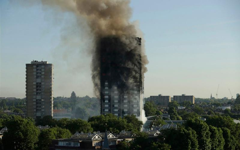 The Grenfell Tower inquiry entered its second phase today - AP