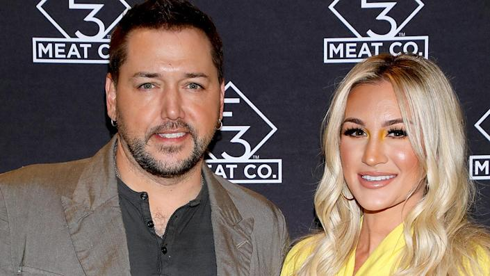"""Jason Aldean's wife Brittany Aldean has made headlines lately for her political statements on social media. <span class=""""copyright"""">Photo by Danielle Del Valle/Getty Images for E3 Chophouse Nashville</span>"""
