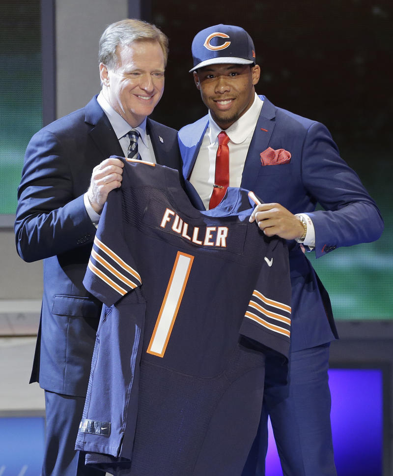 DB Fuller wants to push for time with Bears