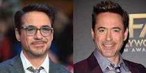 <p><strong>Signature: </strong>Glasses with colored lenses</p><p><strong>Without Signature: </strong>At a Captain America premiere without any glasses. </p>