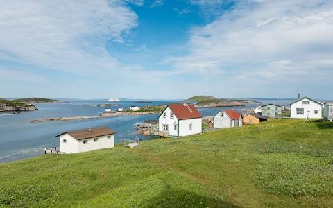 Clapboard houses in Battle Harbour, Newfoundland & Labrador - Credit: Karsten Bidstrup