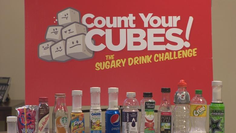 Sugar cube challenge: Health professionals in N.L. target sweet drinks
