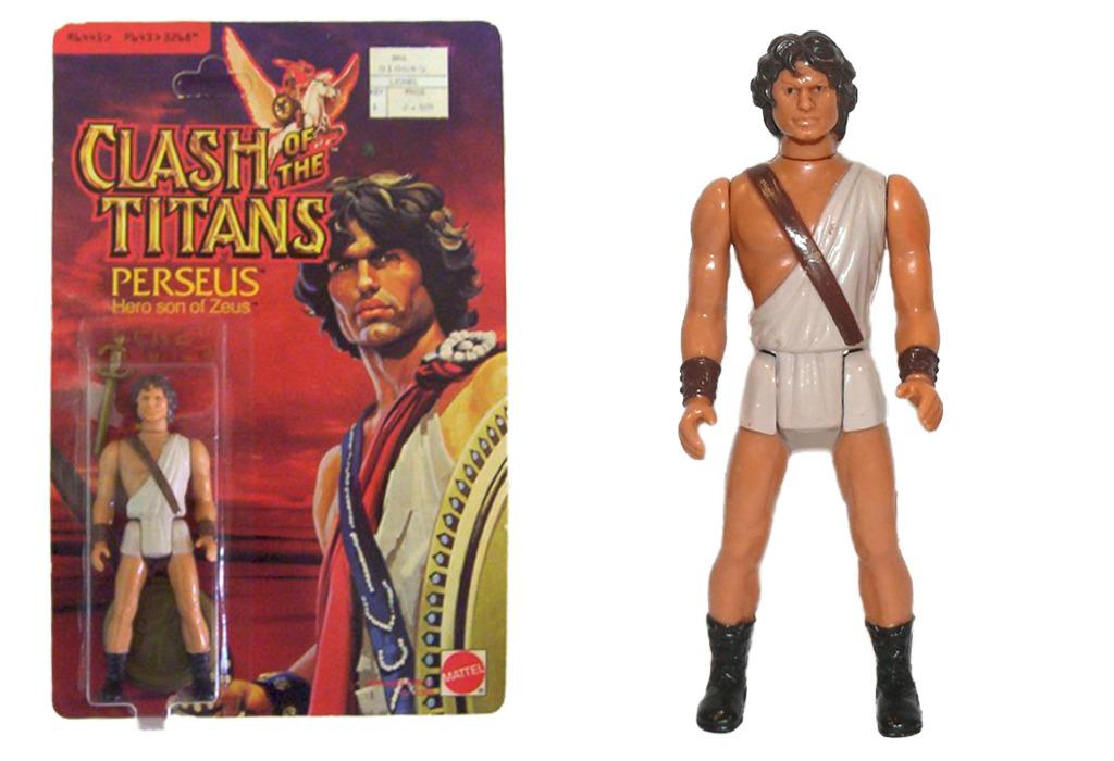 """<p>Mattel produced a set of six figures from MGM's Greek mythology-based fantasy adventure, including a giant <a href=""""http://www.plaidstallions.com/mattel/clash.html"""">four-armed sea monster</a> and this Harry Hamlin doll you never knew you needed. (Photo: Mattel)</p>"""