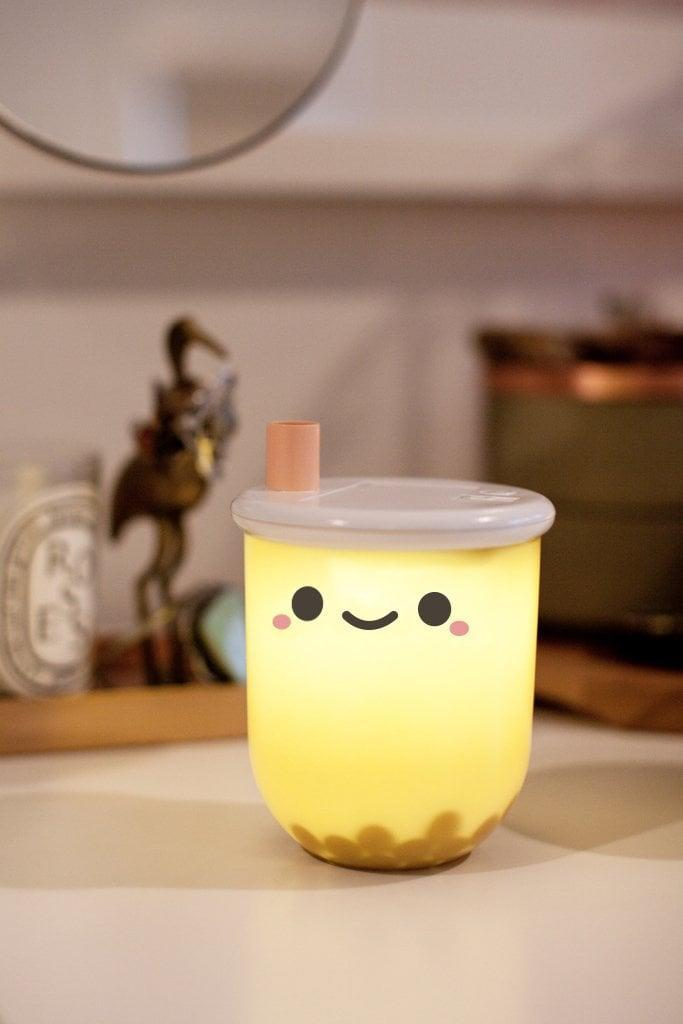 <p>This <span>Smoko Pearl Boba Tea Ambient Light</span> ($20) is the perfect little nightlight. Get it for the person who loves all things boba.</p>