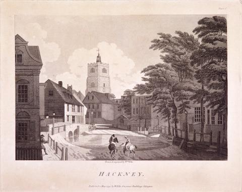 <span>Pepys liked nothing more than to hail a coach at Aldgate, sit back and zoom 'away into the fields to take the air' in Hackney, 'which I every day grow more and more in love with'</span> <span>Credit: City of London / Heritage-Images/Heritage Images </span>