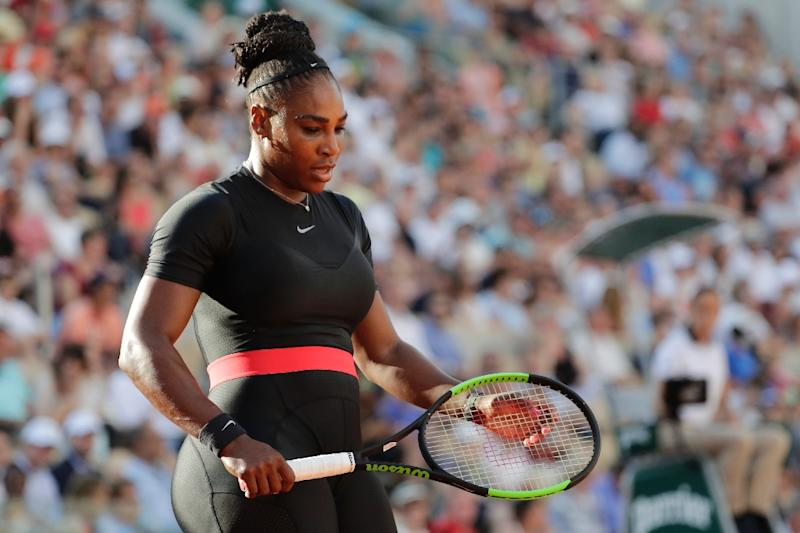 Williams withdrew from last year's French Open before her fourth-round match against Sharapova